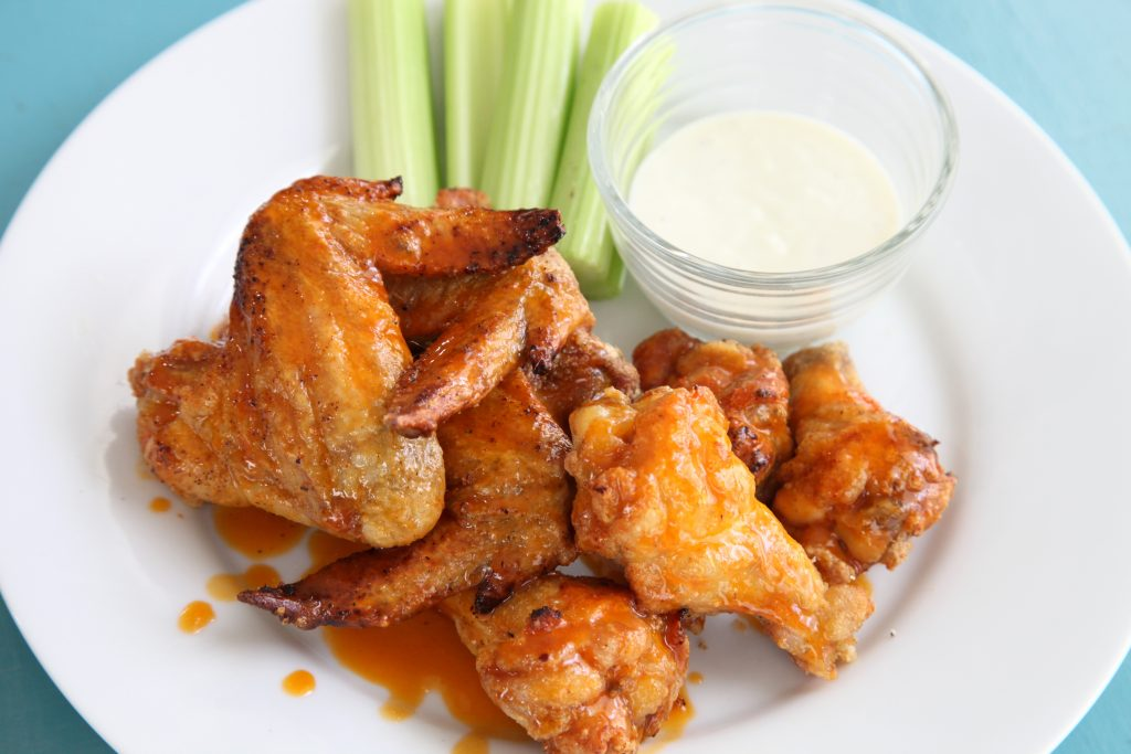 Crispy Baked Gluten Free Buffalo Wings At Home With Shay