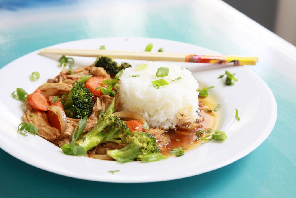 Honey Ginger Stir Fry At Home With Shay Gluten Free